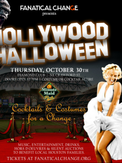 "Fanatical Change Foundation hosts ""Hollywood Halloween: Cocktails and Costumes"""