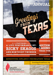 Epilepsy Foundation Texas presents Greetings from Texas