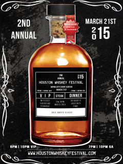 Second Annual Houston Whiskey Festival
