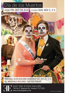 "East End Studio Gallery hosts ""Dia de los Muertos (Day of the Dead) in the East End"""
