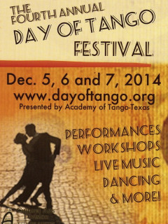 4th Annual Day of Tango Festival 2014