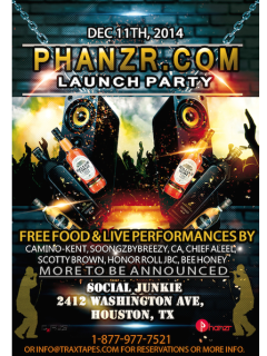 Phanzr.com Launch Party