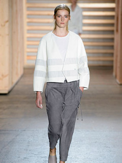 Look 2 from TIbi spring 2015 collection by designer Amy Smilovic
