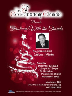 Contemporary Chorale presents Christmas with the Chorale