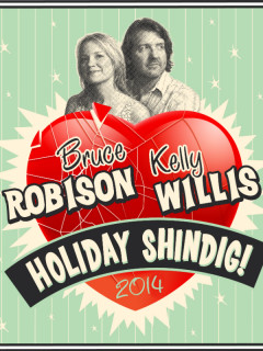 KUTX Live presents Kelly and Bruce's Holiday Shindig Poster 2014