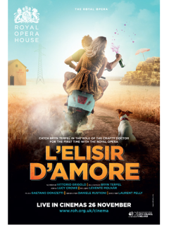 Film screening: Royal Opera House production of Donizetti's L'elisir d'amore