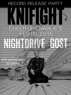 Knifight_V album_release party_Cheer Up Charlie's_February 2015