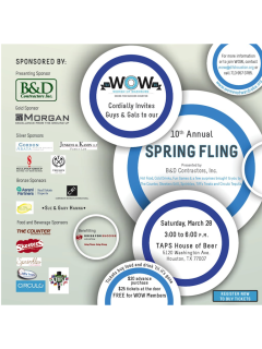Women of Wardrobe's 10th Annual Spring Fling