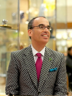 Designer appearance and trunk show: Jay Strongwater at Neiman Marcus