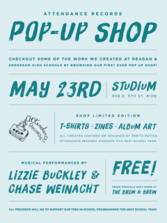 Attendance Records_Pop up Shop_May 2015