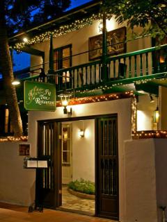 Fig Tree Restaurant San Antonio exterior door sign