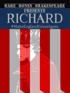 Bare Bones Shakespeare presents Richard III