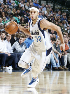 Seth Curry of Dallas Mavericks