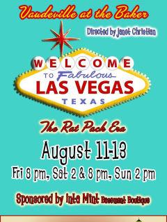 Gaslight Baker Theatre presents Vaudeville at the Baker: <i>Fabulous Las Vegas</i>