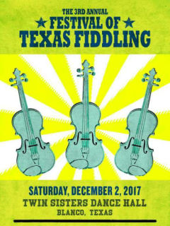 Texas Folklife presents 3rd Annual Festival Of Texas Fiddling