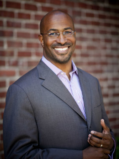 CNN political commentator Van Jones