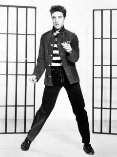 News_Elvis Presley_Jailhouse Rock_publicity poster