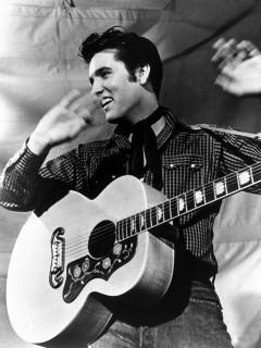 News_Elvis Presley_western_bw