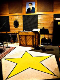 News_Douglas Newman_SugarHill Recording Studios_interior_with star