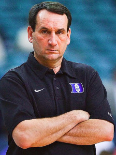 News_Mike Krzyzeswki_Duke_coach