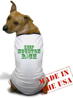 News_Heather Staible_T-shirts_Keep Houston Rich_T-shirt_dog