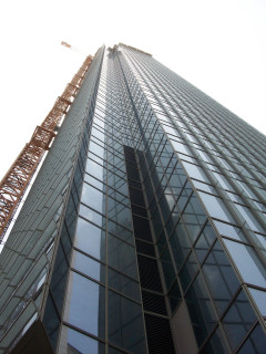 News_Ralph Bivins_Hines tower_MainPlace_office building