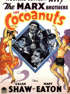 Precode Treasures: The Marx Bros <i>The Cocoanuts</i> in 35mm
