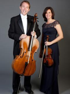 Jolyon Pegis and Maria Schleuning