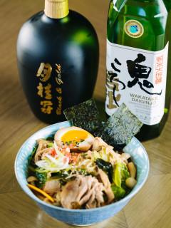 Ramen and Sake