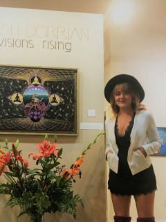 Rising-Closing of Leah Dorrian's Solo Show
