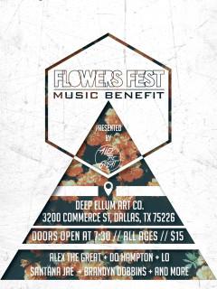 Flowers Fest Music Benefit