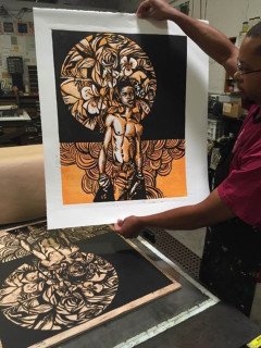 """""""Soul: Melanated Life In Print"""" opening reception"""