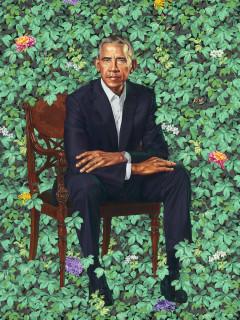 Barack Obama portrait