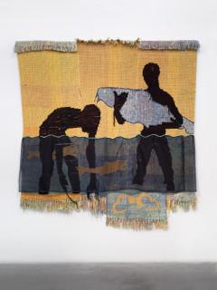 """Blanton Museum of Art presents Diedrick Brackens: """"darling divined"""""""