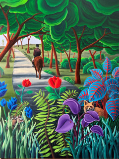 Tiemann Art Gallery presents Monica Puryear: Visions of Nature