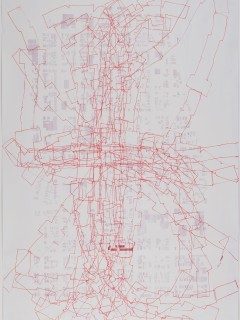 """""""Spatial Awareness: Drawings from the Permanent Collection"""" opening day"""