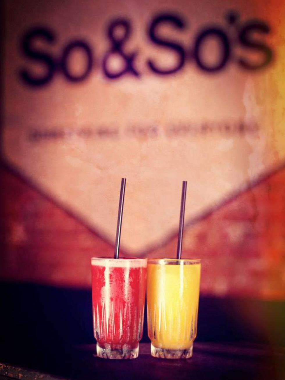 Cocktails at So & So's in Dallas