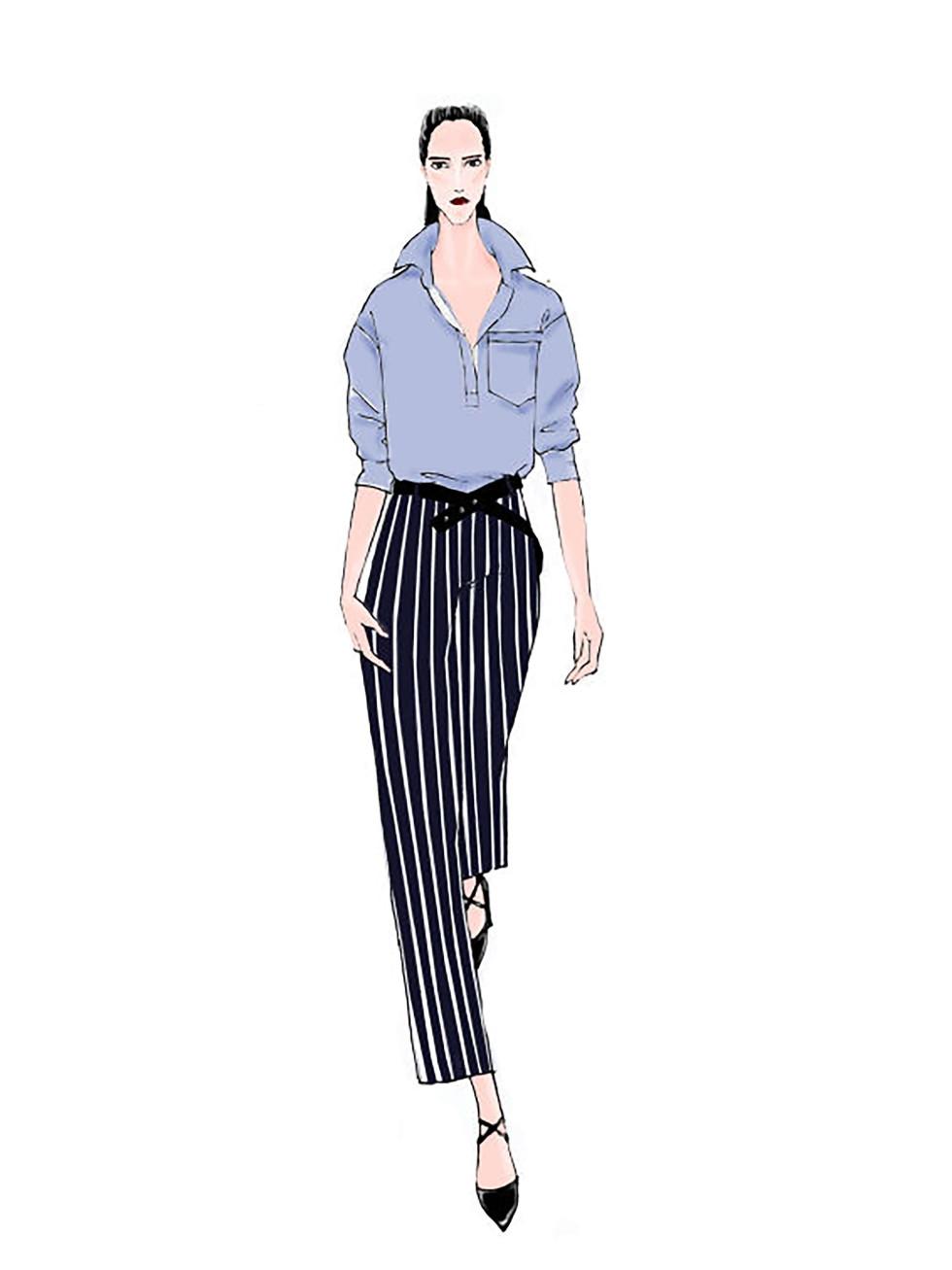 Taoray Wang designer inspiration sketch spring 2017