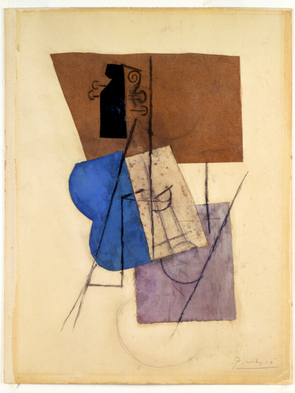 Pablo Picasso, Violin on a Table