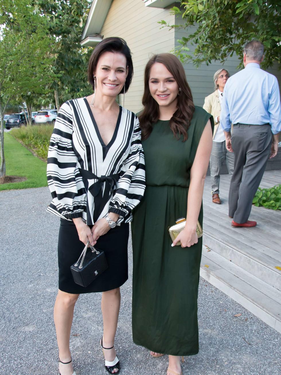 PaperCity launch party, 9/16, Francine Ballard, Hannah Swiggard