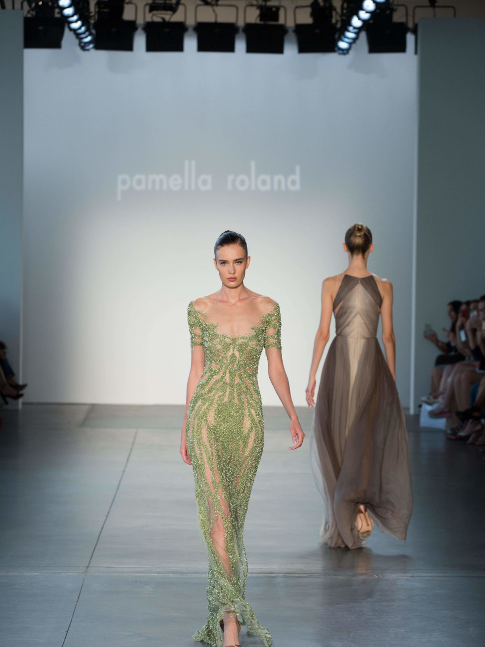Pamella Roland spring 2017 collection look 14