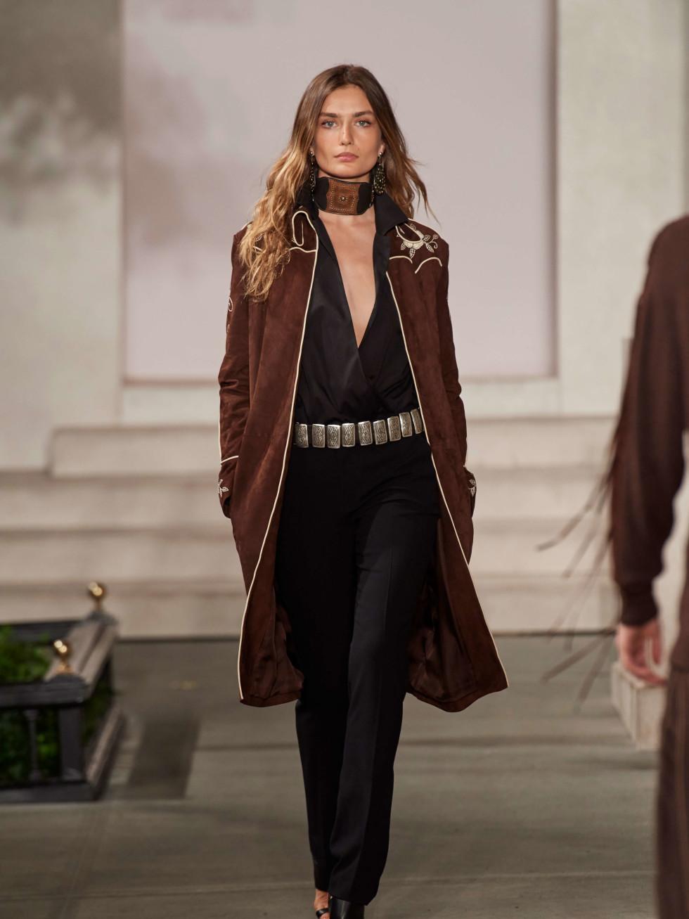 Ralph Lauren fall collection Houston coat