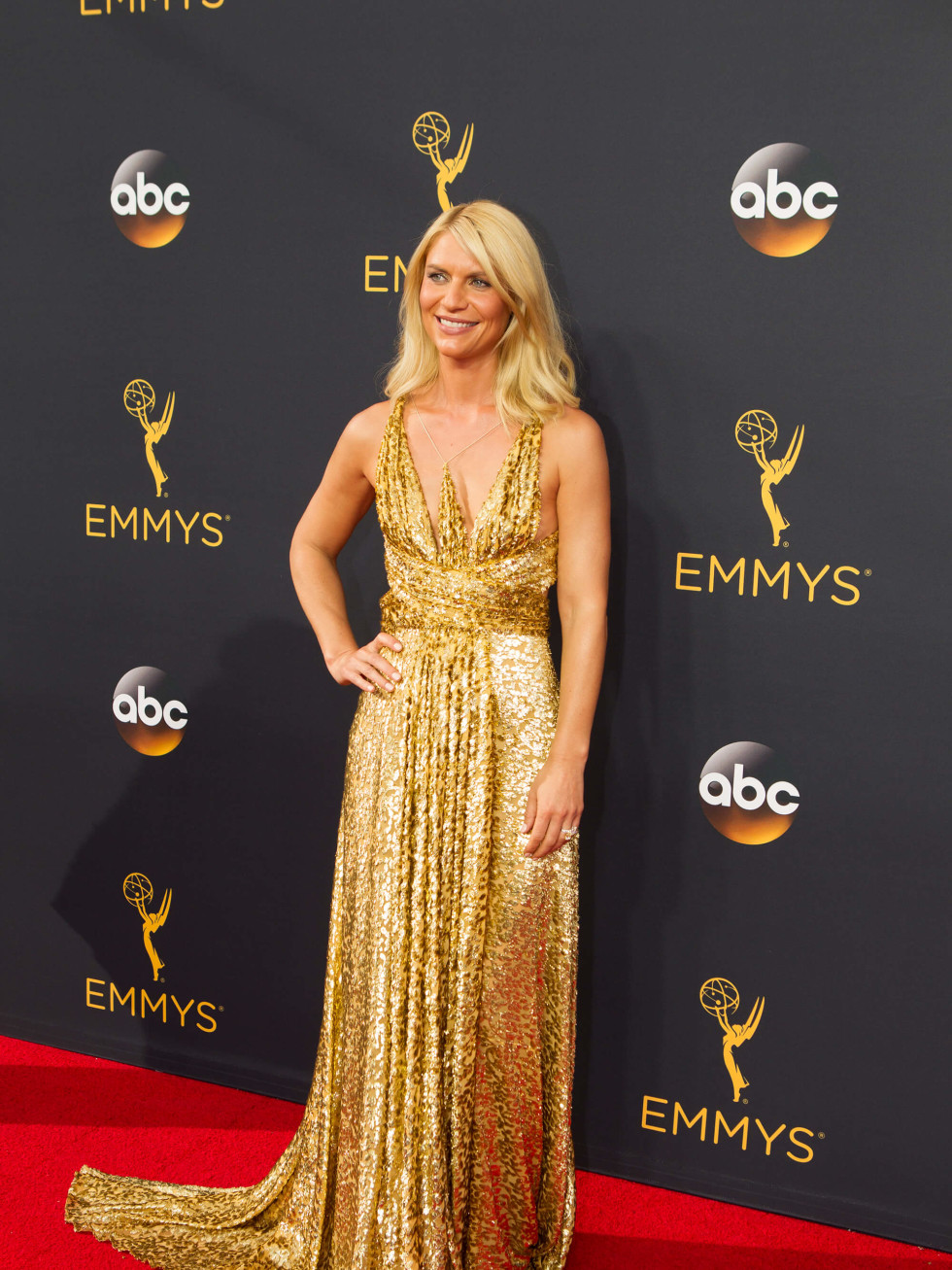 Claire Danes in Schiaparelli at Emmy Awards