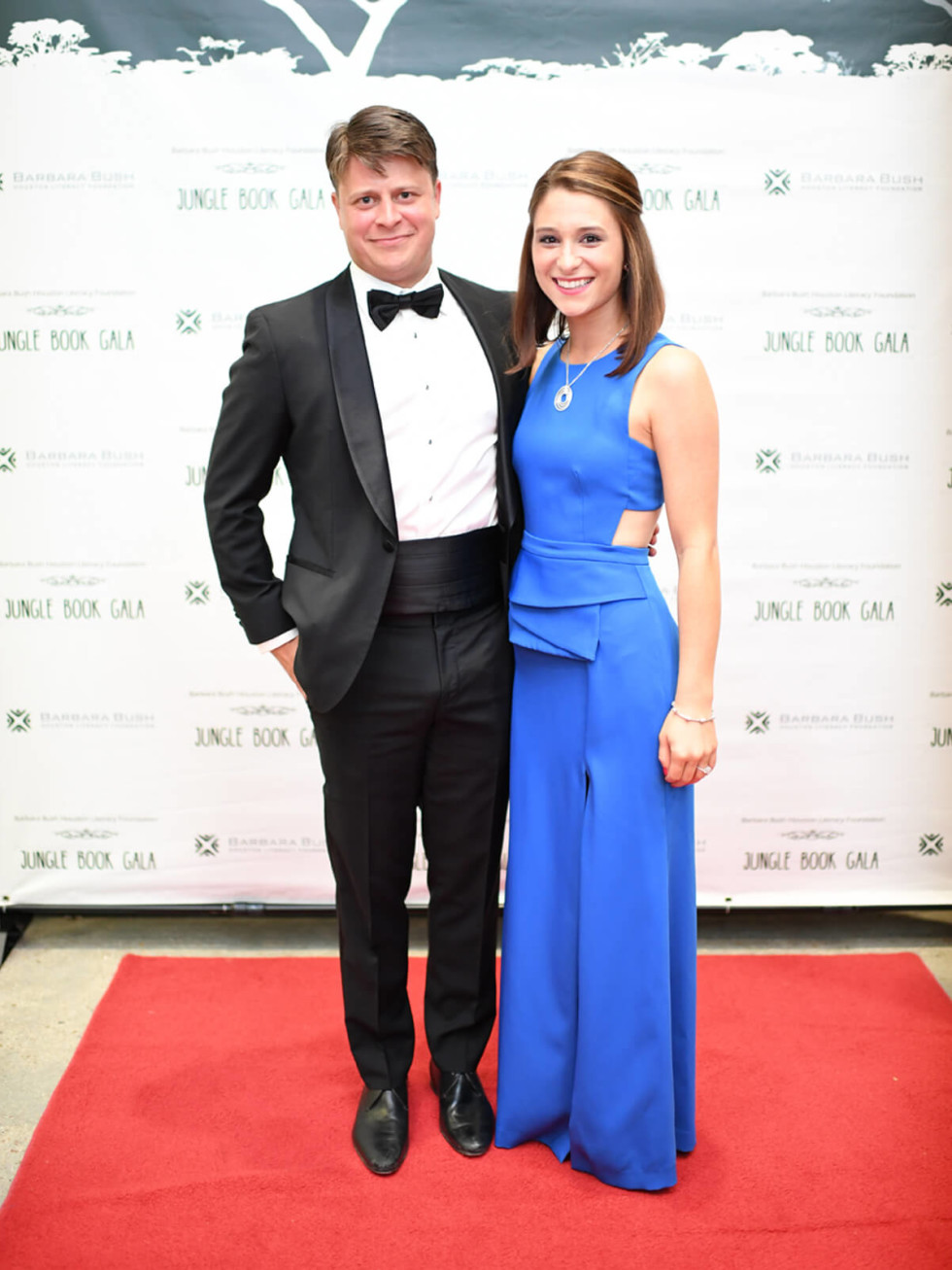Jungle Book Gala, Austin Boatwright, Morgan Relyea