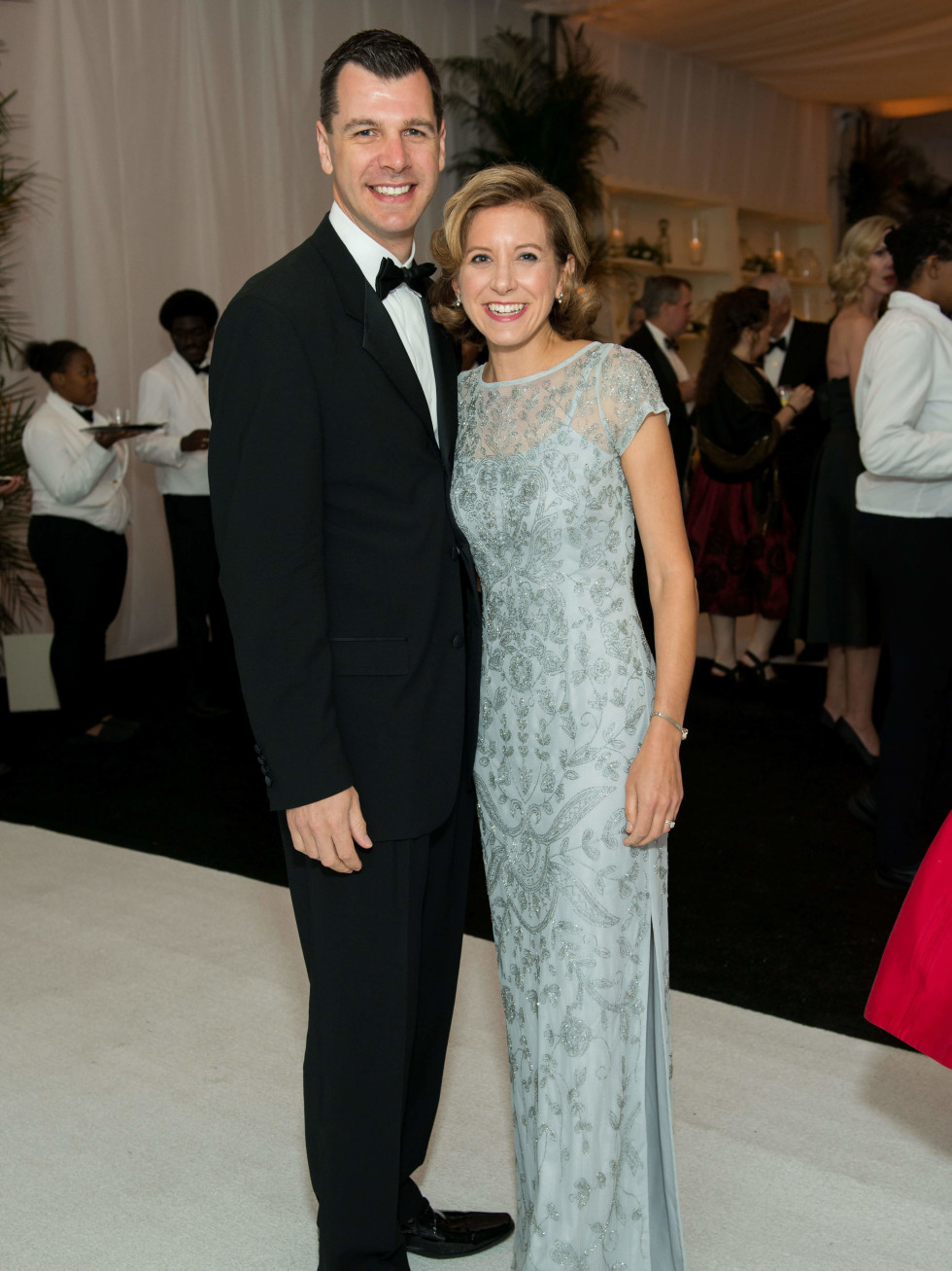 Jones Hall 50th Ball, Mark Hanson (Houston Symphony CEO) and Christina Hanson