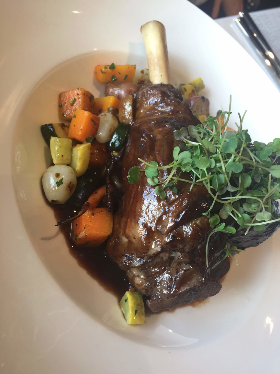 Third Coast lamb shank
