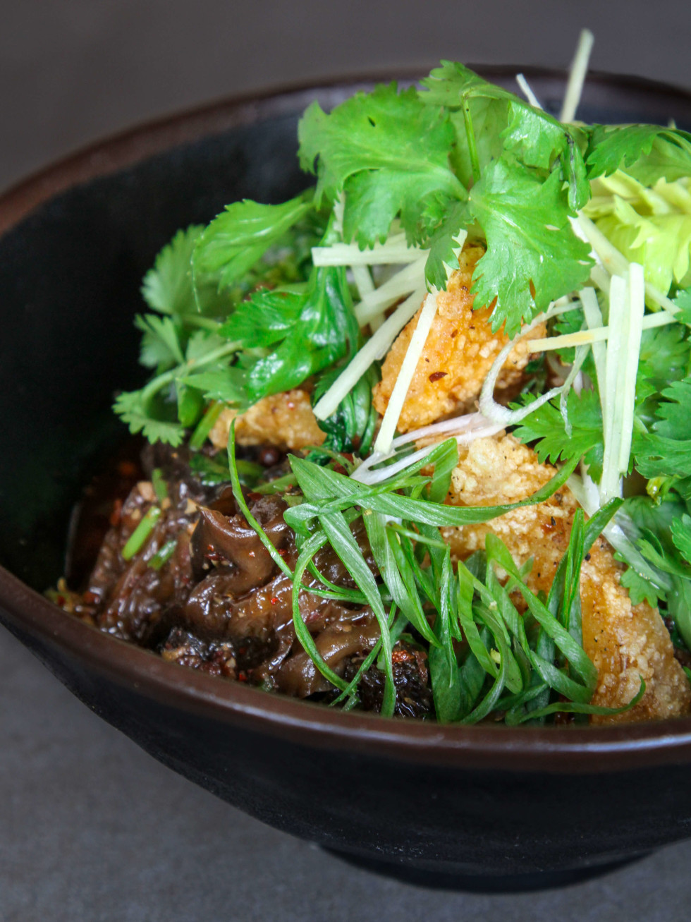 Old Thousand restaurant Szechuan cod