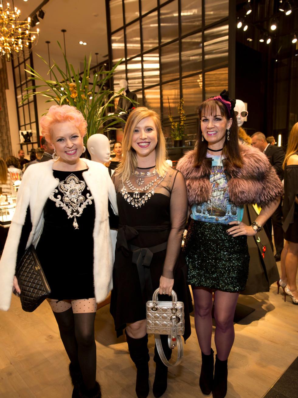 Forty Five Ten Houston opening, Vivian Wise, Kalyn Oden, Beth Muecke