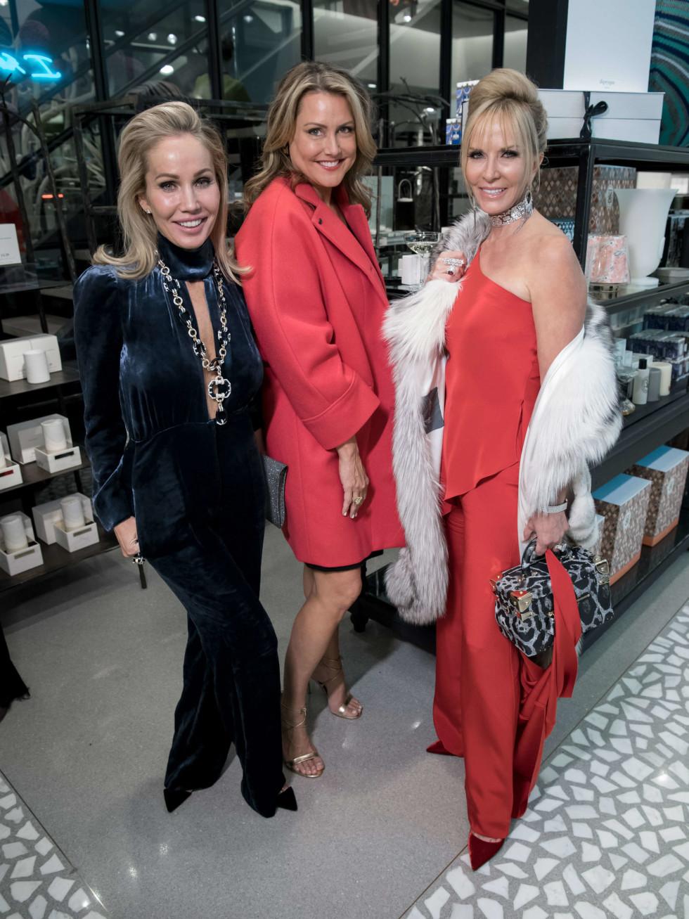 Brooke Davenport, Caroline Summers, Nancy Rogers