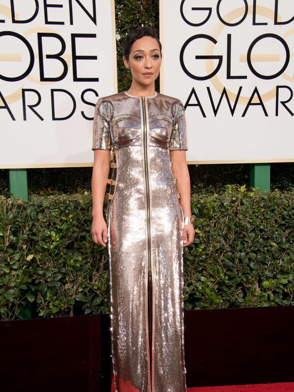 Ruth Negga at Golden Globes 2017